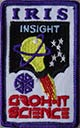 SGI embroidered badge
