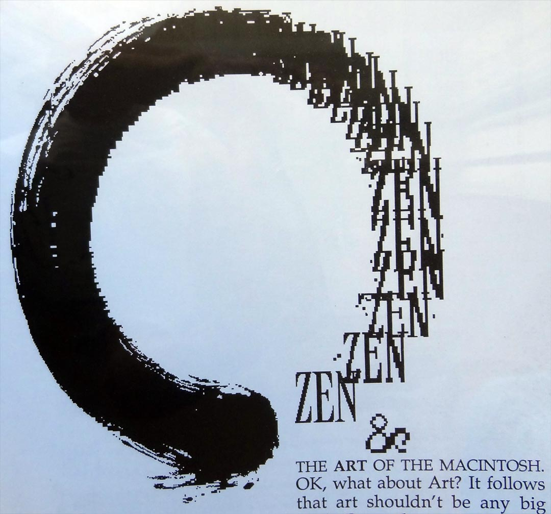 Enso in Zen and the Art of Macintosh