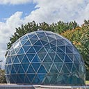 Fuller Dome, The Center for Spirituality and Sustainability, in Edwardsville, Illinois, 2018-10-17